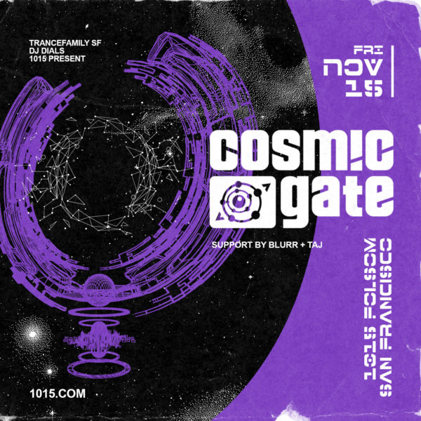 1015 Cosmic Gate Nov 15