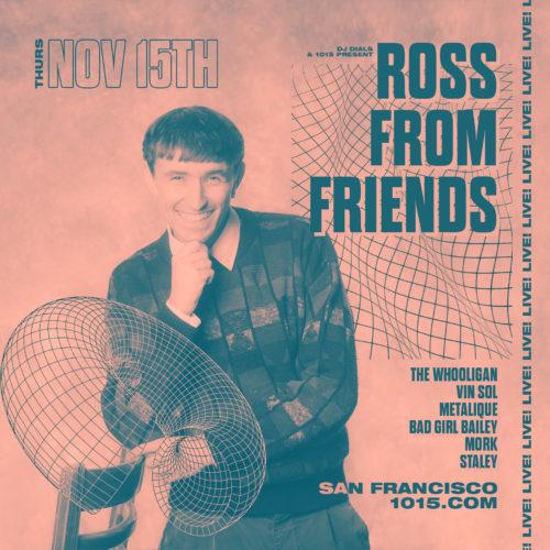 1015 Ross From Friends Nov 15
