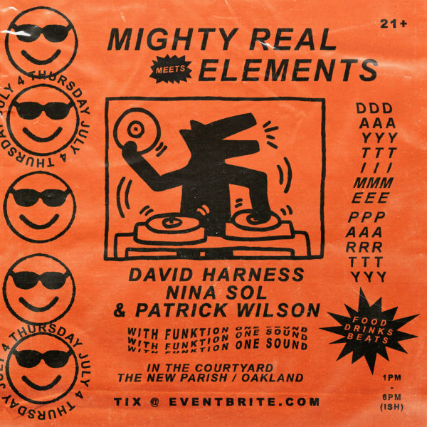 Mighty Real Meets Elements July 4