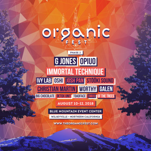 Organic Fest 2018 Phase 2 Square