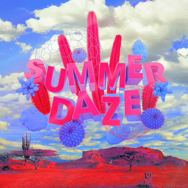 Summer Daze 2018 Design