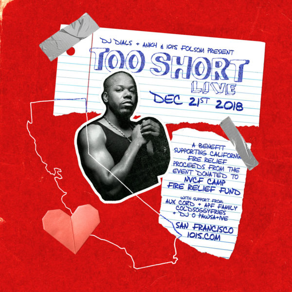 Too Short Fire Relief Dec 21