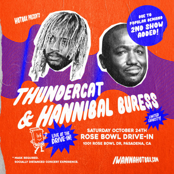 Thundercat Hannibal Buress Drive In Tour 2020 2nd Show